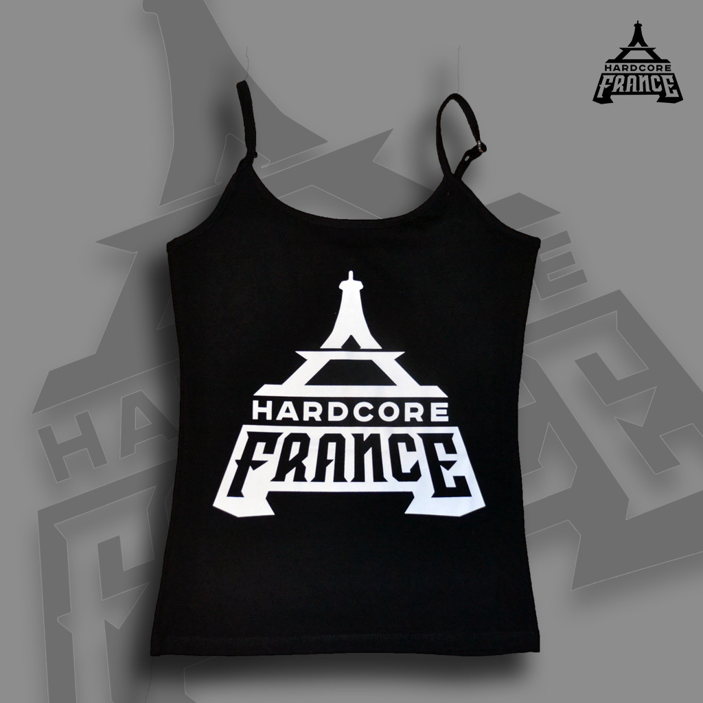 HARDCORE FRANCE T-SHIRT BLACK WOMEN -25%