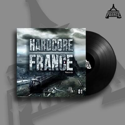 HARDCORE FRANCE 01 - VINYL