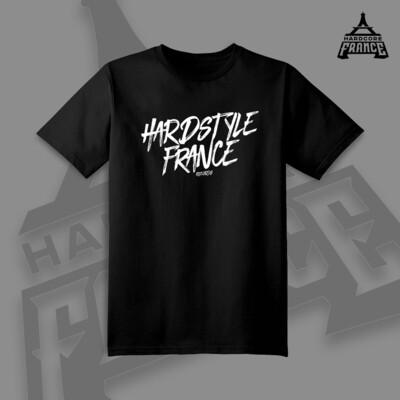 HARDSTYLE FRANCE T-SHIRT BLACK MEN