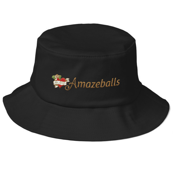 Amazeballs - Old School Bucket Hat