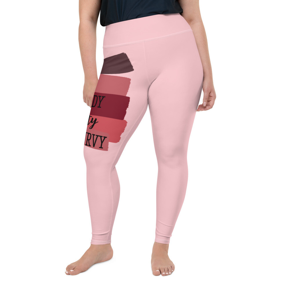 Nerdy, Dirty, and Curvy Plus Size Leggings