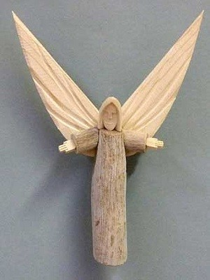 Angel, Carved