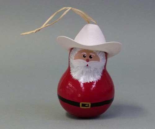 Cowboy Santa, Gourd