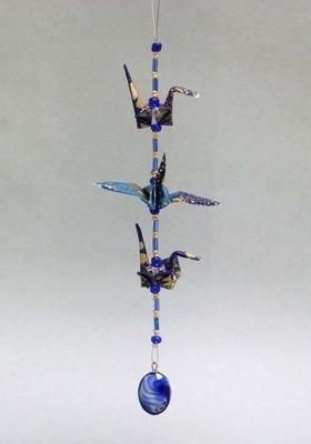 3 Piece Crane Strand, Origami
