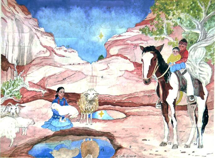 Desert Reflections Advent Calendar