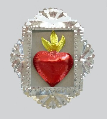 Sacred Heart in Shadow Box