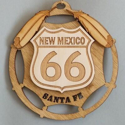 New Mexico Route 66, Santa Fe