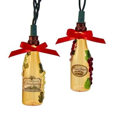 Wine Bottles Light Set