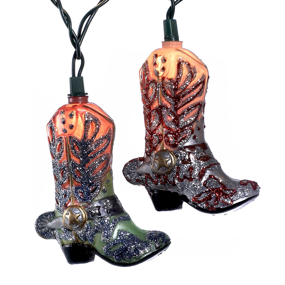 Cowboy Boot Light Set