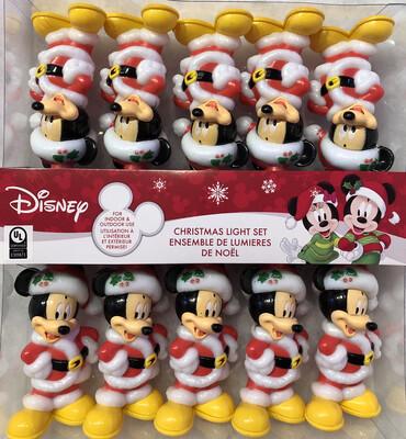 Mickey Mouse Santa Light Set