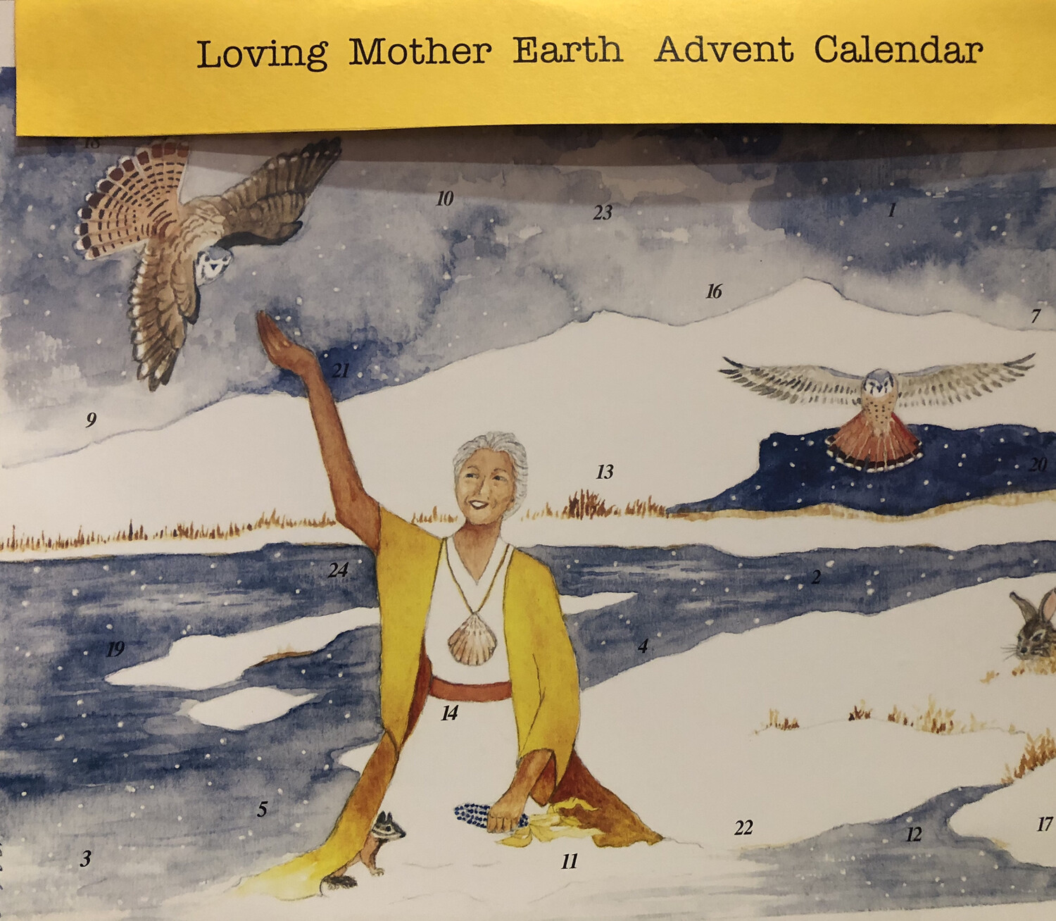 Loving Mother Earth Advent Calendar