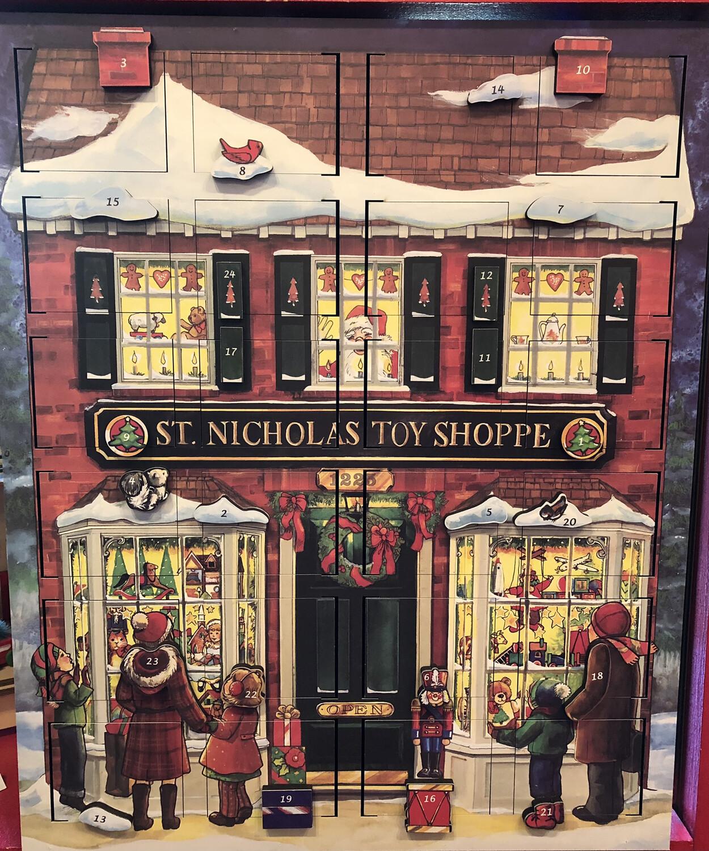 Saint Nicholas Toy Shoppe Musical Advent Calendar