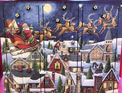Santa's Sleigh Musical Advent Calendar