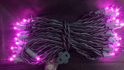 Purple Incandescent 50 Light Set
