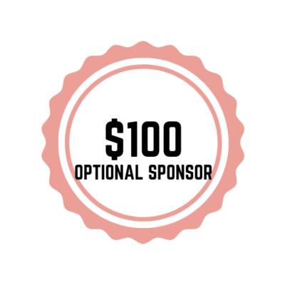 $100 Optional Sponsor