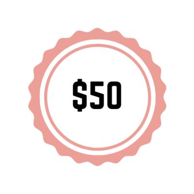 $50 Sponsorship