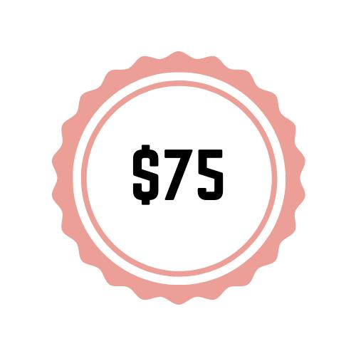 $75 Sponsorship