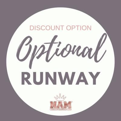 2021 Optional Runway Contest Discount