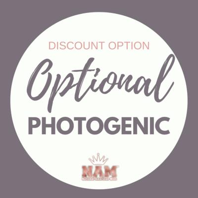 2021 Optional Photogenic Contest Discount