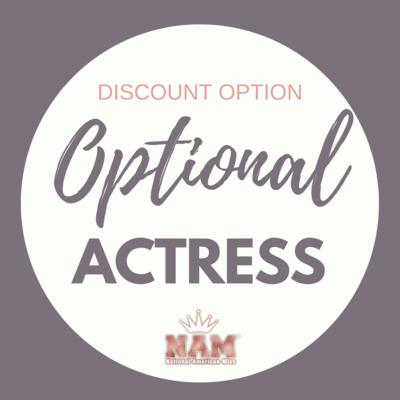 2021 Optional Actress Contest Discount