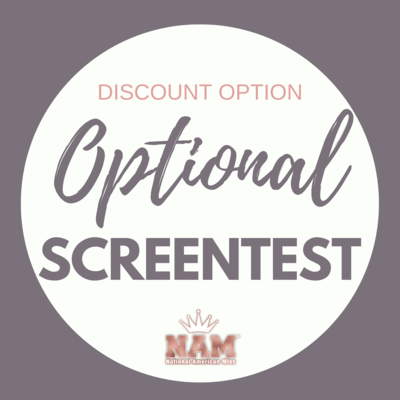 2021 Optional Screentest Contest Discount
