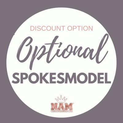 2021 Optional Spokesmodel Contest Discount