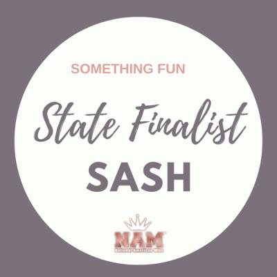 State Finalist Sash