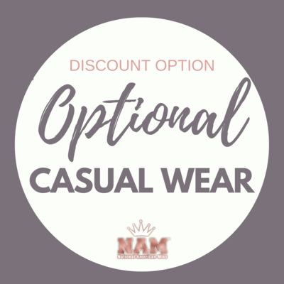 2021 Optional Casual Wear Modeling Contest Discount
