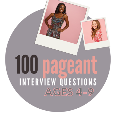 100 Practice Interview Questions: Ages 4-9