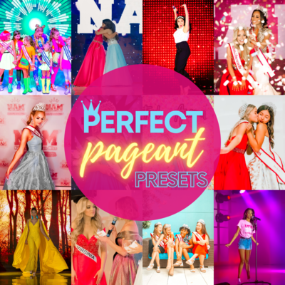 SALE: Perfect Pageant Presets for your photos!