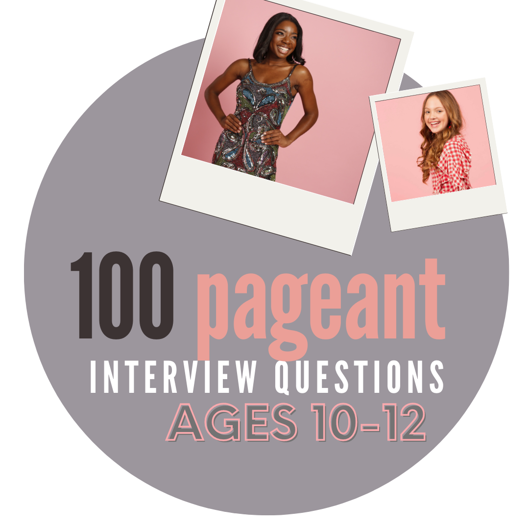 100 Practice Interview Questions: Ages 10 - 12