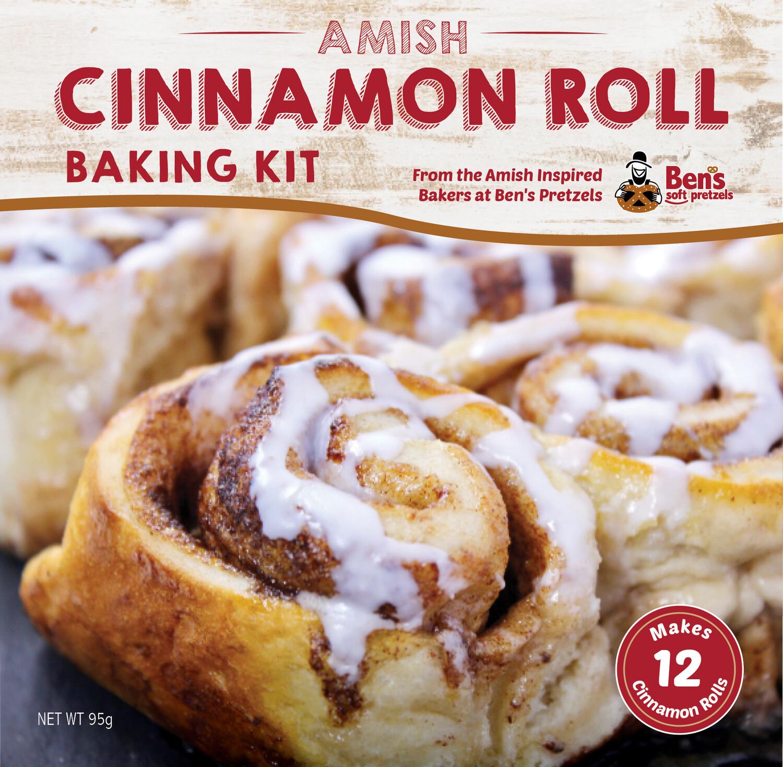 Amish Cinnamon Rolls- 2 Pack Dry Baking Ingredient Kit.