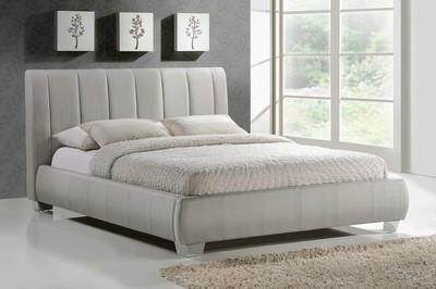 Time Living Braunston Upholstered Bed Frame in Sand