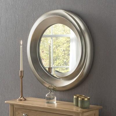 Chunky Circular Mirror By Yearn Glass