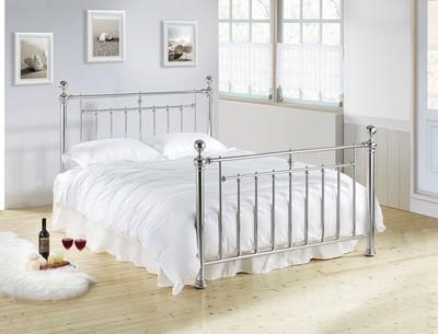 Alexander Chrome Nickle Bed