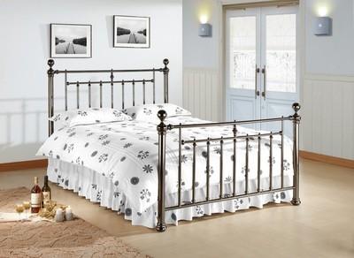 Alexander Black Nickle Bed