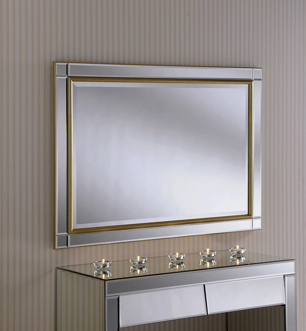 Yearn Venetian Gold Accent Mirror