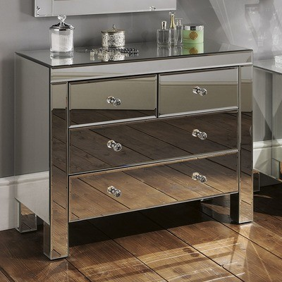 Yearn Mirrored Bedroom Chest of Drawer