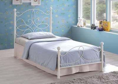 Melissa Ivory Bed Frame