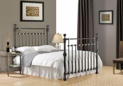 Edward Black Nickle Bed Frame