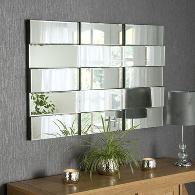 Yearn Art Deco Accent Wall Mirror