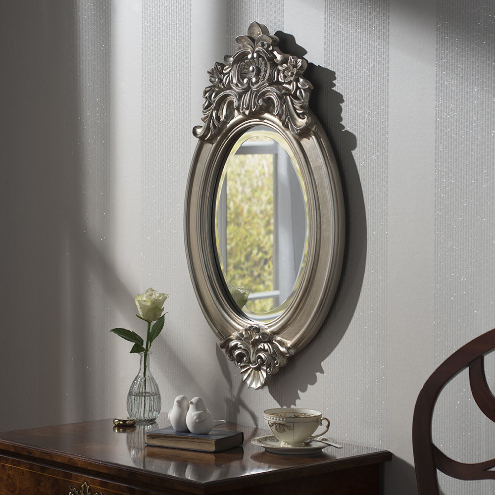 Yearn Windsor Crested Mirror