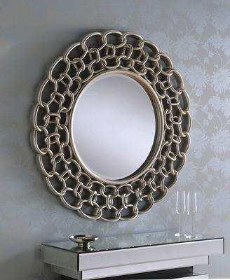 Yearn Liked Chain Circular Mirror