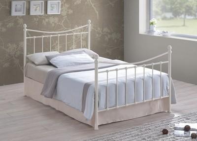 Alderley Ivory Metal Bed