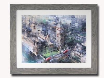 London Big Ben Painting