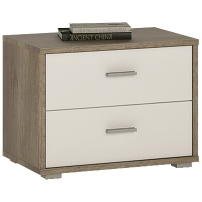 4You 2 Drawer Bedside Table