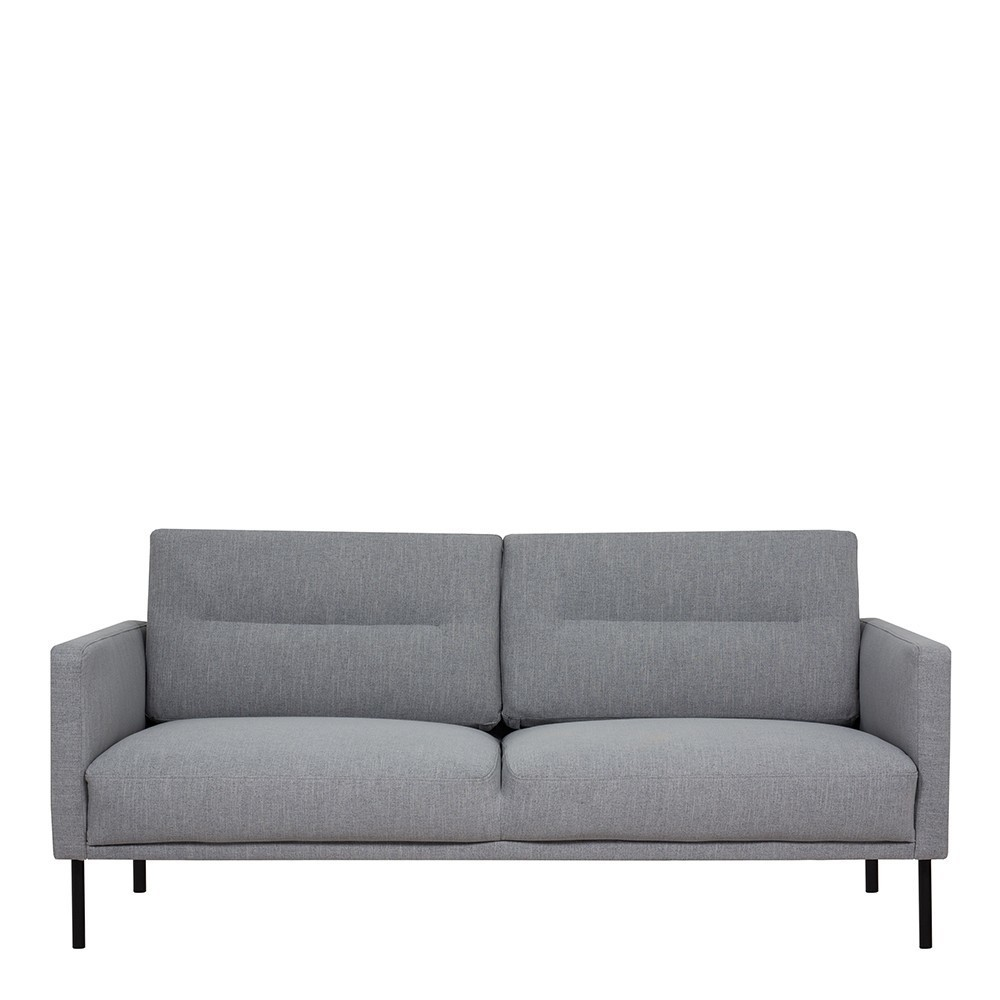 Larvik 2 Seater Fabric Sofa Grey