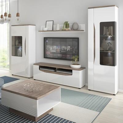 Toledo Single Door Low Display Cabinet