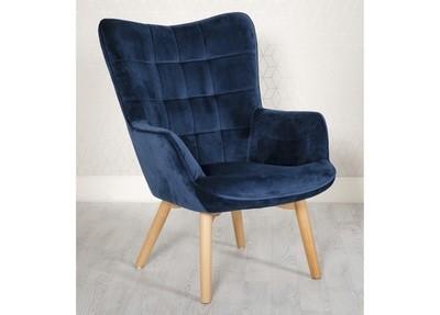 Blue Accent Chair Blue