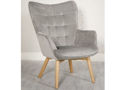Modern Accent Chair Grey